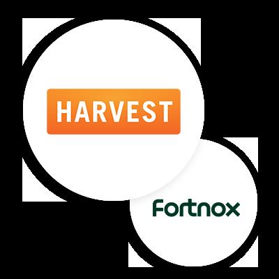 Harvest Fortnox integration